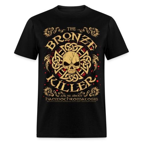 Hemochromatosis Awareness Bronze Killer T Shirt - Men's T-Shirt