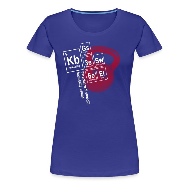 Table of Elements Tshirt [women]