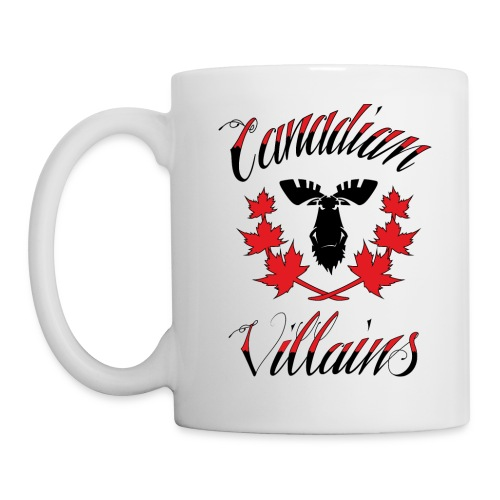 Canadian Villains Mug - Coffee/Tea Mug