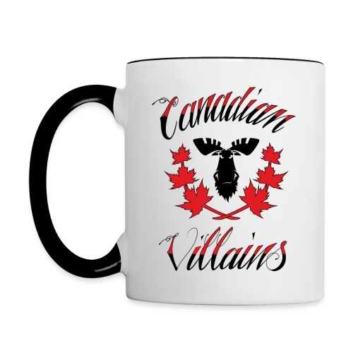 Canadian Villains Mug - Contrast Coffee Mug