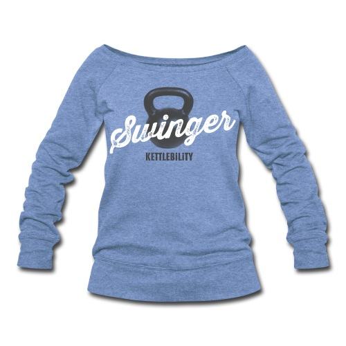 Swinger wide neck long sleeve [women] - Women's Wideneck Sweatshirt