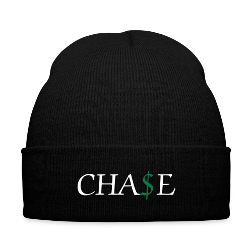 Chase Beanie - Knit Cap with Cuff Print