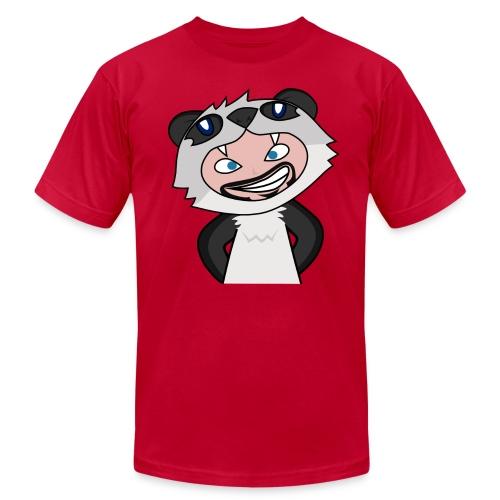 Panda Man - Men's Fine Jersey T-Shirt