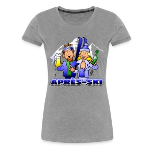 Après-ski party - Women's Premium T-Shirt