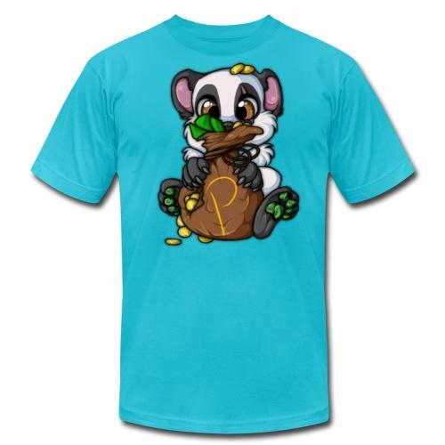 Panda's Gold Bag - Men's Fine Jersey T-Shirt