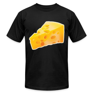 PURE Cheese - Men's T-Shirt by American Apparel