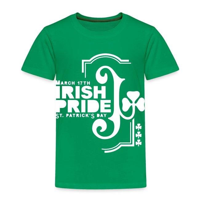 IRISH PRIDE - front print - 2/4 toddler