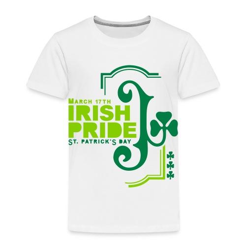 IRISH PRIDE - front print - 2/4 toddler - Toddler Premium T-Shirt