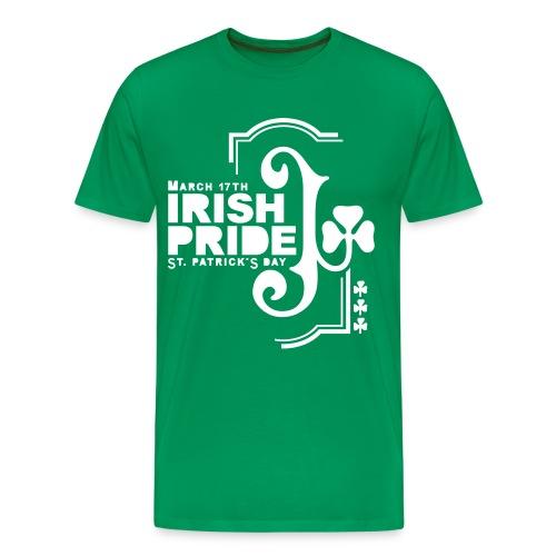 IRISH PRIDE - front print - s/5xl - Men's Premium T-Shirt