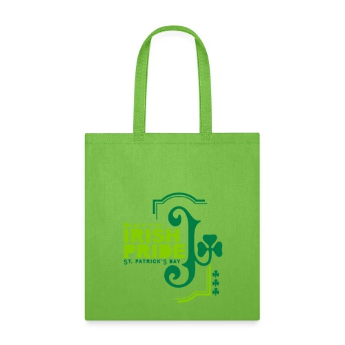 IRISH PRIDE - front print - one size - Tote Bag