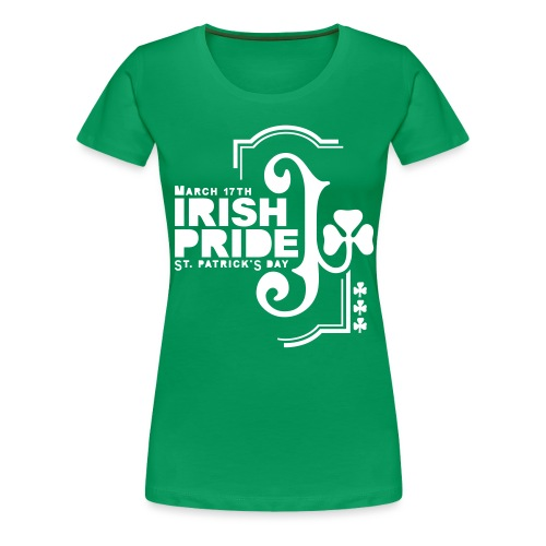 IRISH PRIDE - front print - s/3xl - Women's Premium T-Shirt