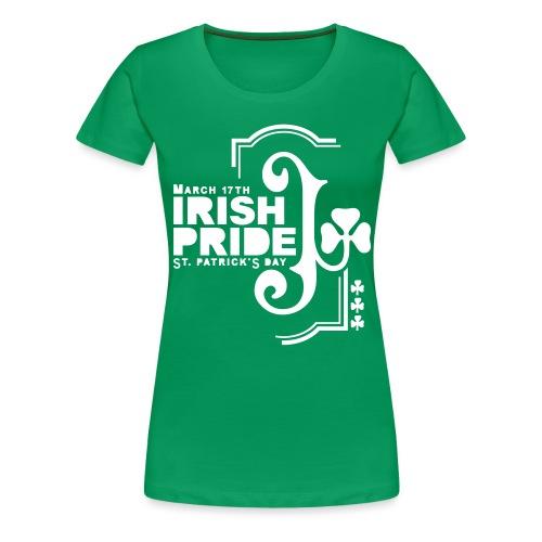 IRISH PRIDE - front print - s/3xl - Women's Premium T-Shirt