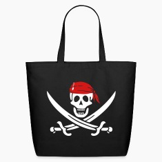 jolly roger pirate swords Bags & backpacks