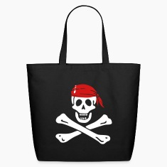 jolly roger pirate Bags & backpacks
