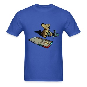 Teddy The Gamer - Men's T-Shirt