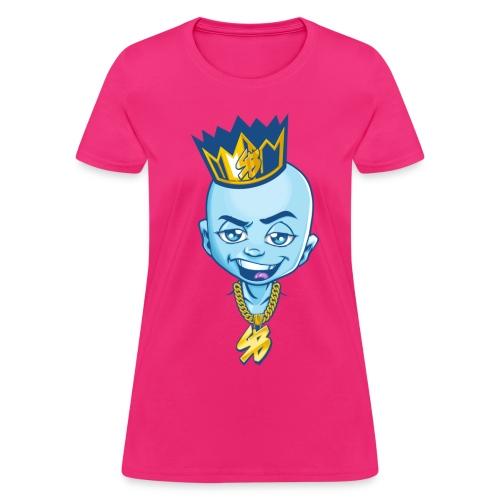 Smash Block Womens Character T -Shirt - Women's T-Shirt