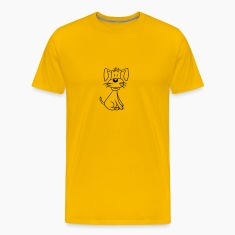 sweet little cute sitting dog, doggies, pup T-Shirts