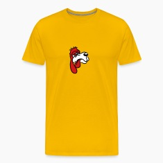 depleted red sweet little sad dog silly T-Shirts