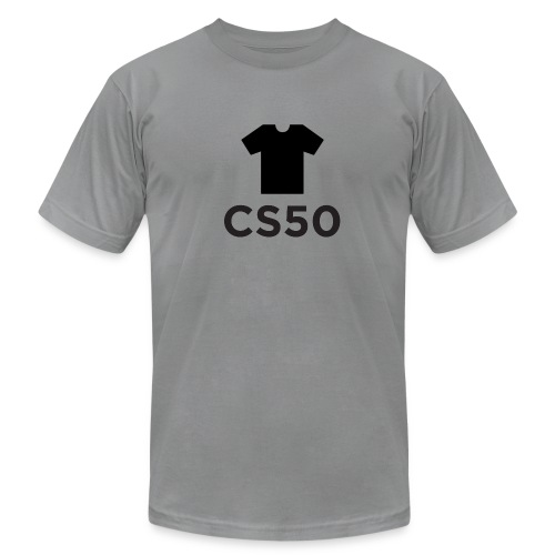 CS50 Shirt - Men's T-Shirt by American Apparel