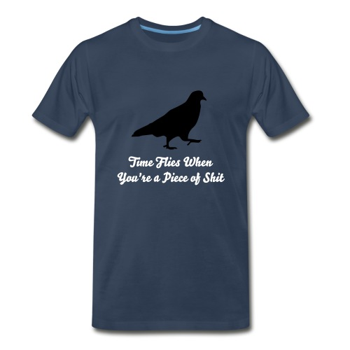 time flies mens tee,, - Men's Premium T-Shirt