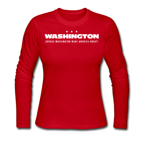 Made America Great, Women - Women's Long Sleeve Jersey T-Shirt