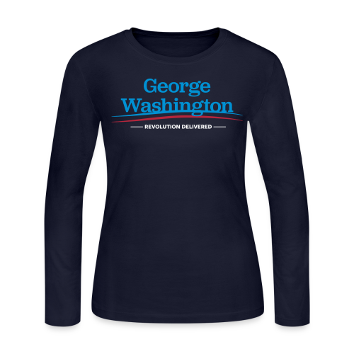 Revolution Delivered, Women - Women's Long Sleeve Jersey T-Shirt