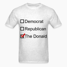 Checkbox for the Donald Trump 2016 T-Shirts