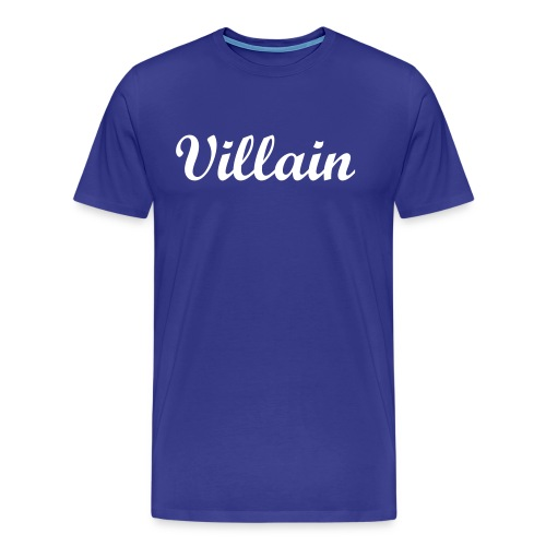Villain Record'z T-Shirt - Men's Premium T-Shirt