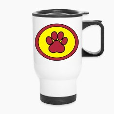 Super, Hero, Super hero, Super Dog, Super Paw Mugs & Drinkware