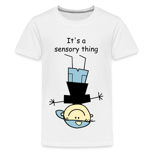 boy sensory - Kids' Premium T-Shirt