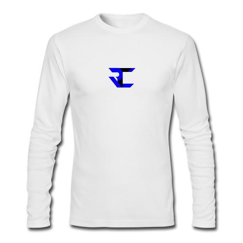 Long Sleeve White RtC Shirt - Men's Long Sleeve T-Shirt by Next Level