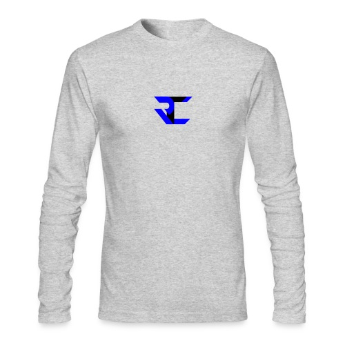 Long Sleeve White RtC Shirt - Men's Long Sleeve T-Shirt by Next Level