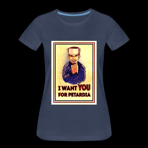 Uncle Petard - Women's Premium T-Shirt