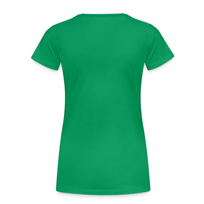 Super Budgetnista Tee,  White/Green