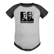 Baby Bodysuits ~ Baby Contrast One Piece ~ Future of the Retro BHM Kings