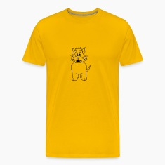 dog cat comic funny laugh sweet T-Shirts