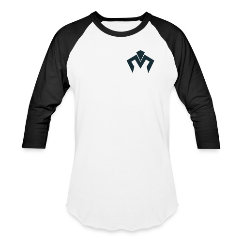 Navy Blue Logo Baseball T - Baseball T-Shirt