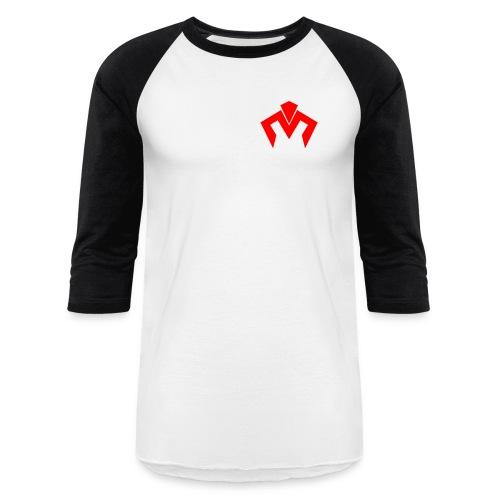 Red Logo Baseball T - Baseball T-Shirt