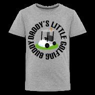Kids' Shirts ~ Kids' Premium T-Shirt ~ Daddys Little Golfing Buddy Shirt