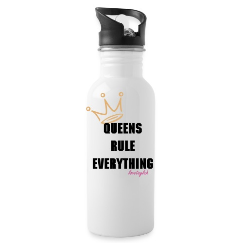 Queens Rule Everything Water Bottle  - Water Bottle