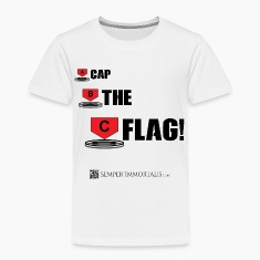 Funny Cap The Flag shirt
