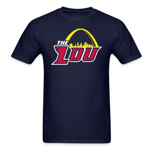 The Lou Navy Tee - Men's T-Shirt