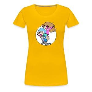 Annie and Mira Women's T-shirt - Women's Premium T-Shirt