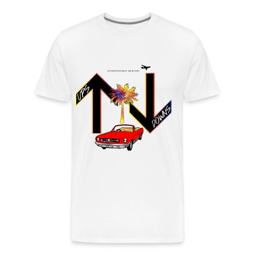 Ups & Downs - Men's Premium T-Shirt