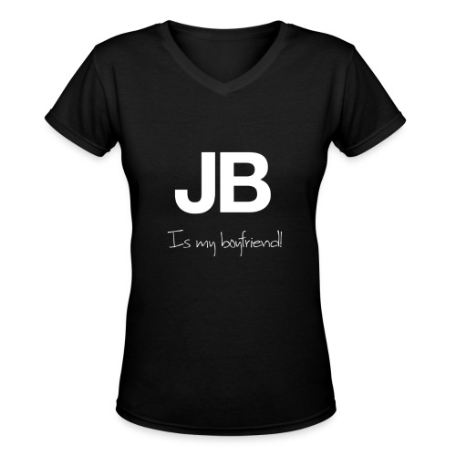 JB boyfriend - Women's V-Neck T-Shirt
