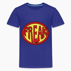 Super, Hero, Heroine, Super Freak Kids' Shirts