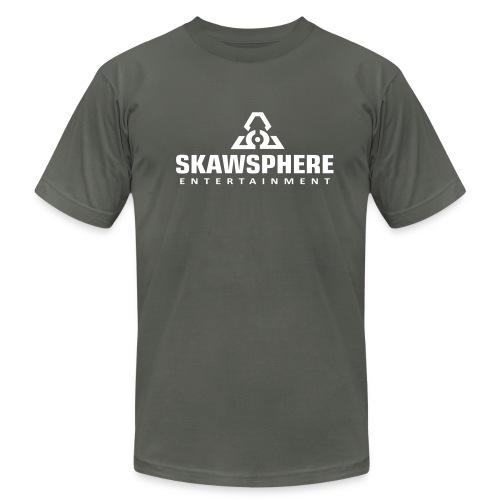 Skawsphere logo men's shirt - Men's Fine Jersey T-Shirt