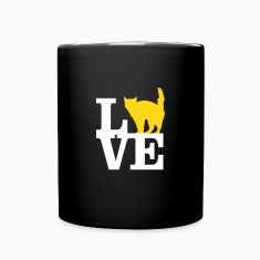 Love Cat Mugs & Drinkware