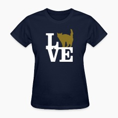 Love Cat Women's T-Shirts
