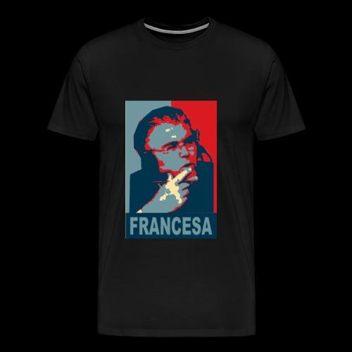 Mike Francesa Short Sleeve Chin Shirt - Men's Premium T-Shirt